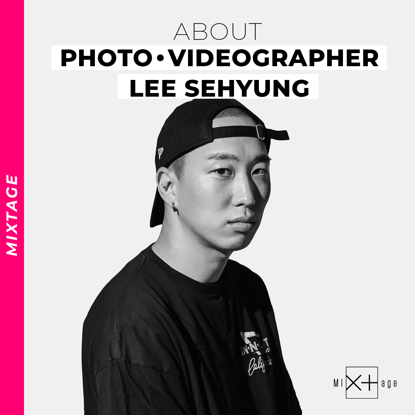 [Mixtage] about LEE SEHYUNG