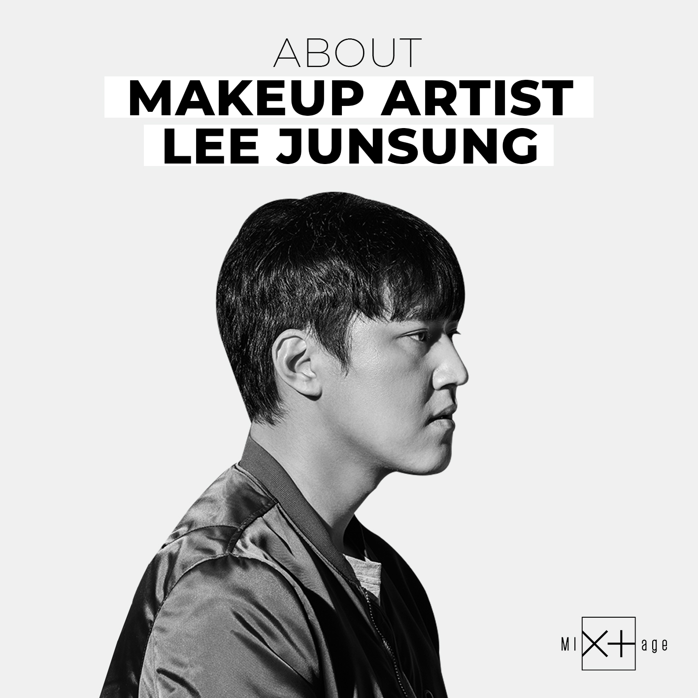 [Mixtage] about LEE JUNSUNG