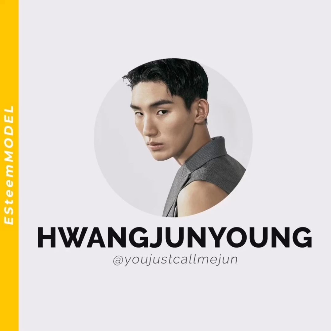 [ESteemModel] about HWANG JUNYOUNG