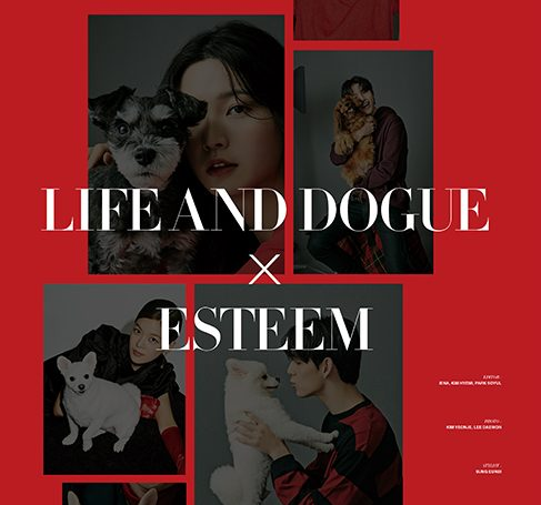 23 ESteem artists X Life And Dogue released a campaign pictorial with the theme of 'All dogs are lovable'!