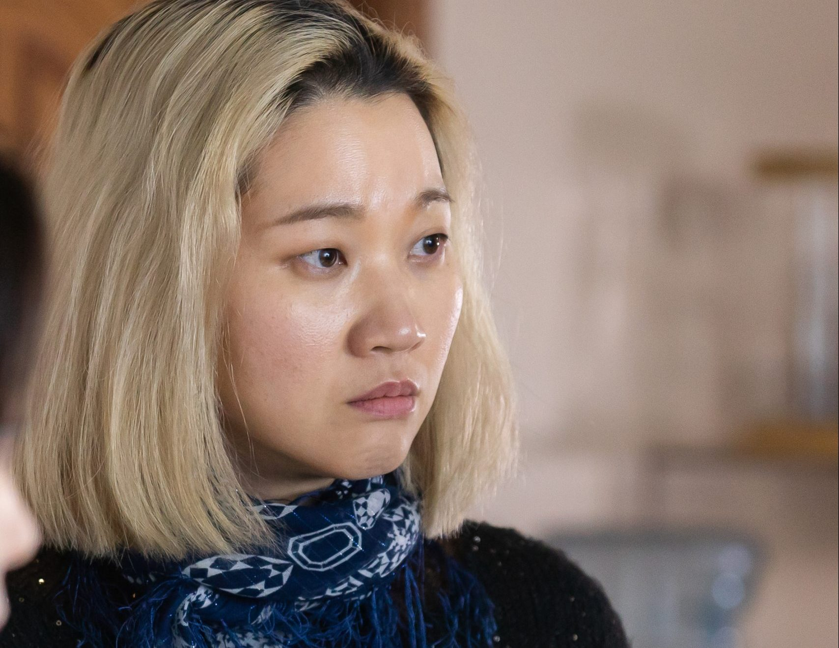 "A brilliant transformation of actor ""Jang Yoon Ju"" in the movie"